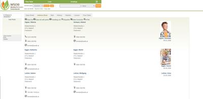 Lists-Classlist-Addressbook