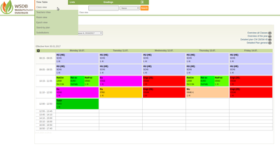 Timetable-ClassView